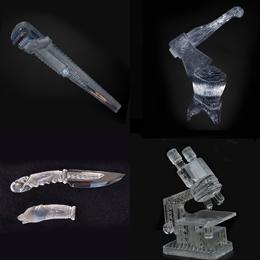 производство сложных наград сувениров кубков и призов из хрусталя