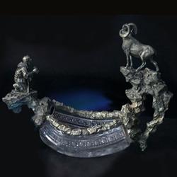 эксклюзивные единичные произведения из хрусталя и серебра