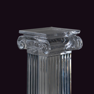производство сложных хрустальных изделий на азаказ методом художественного литья
